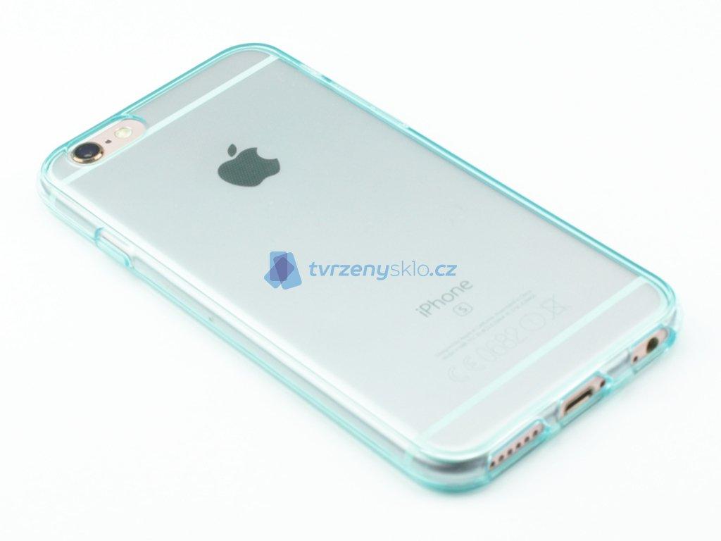 Pevný, Gumový kryt na iPhone 6, iPhone 6s Modrý