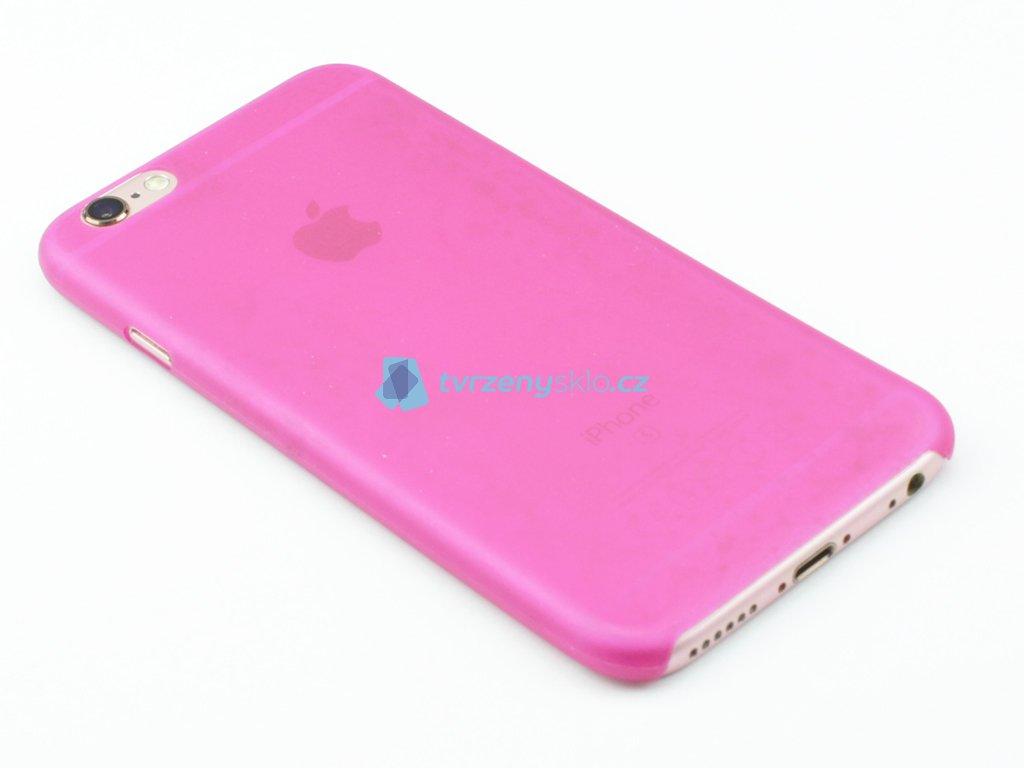 Tenký plastový kryt pro iPhone 6, iPhone 6s Růžový