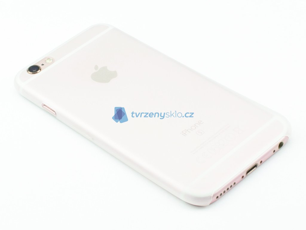 Tenký plastový kryt pro iPhone 6, iPhone 6s Bílý