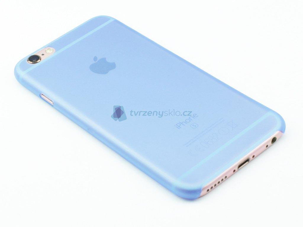 Tenký plastový kryt pro iPhone 6, iPhone 6s Modrý