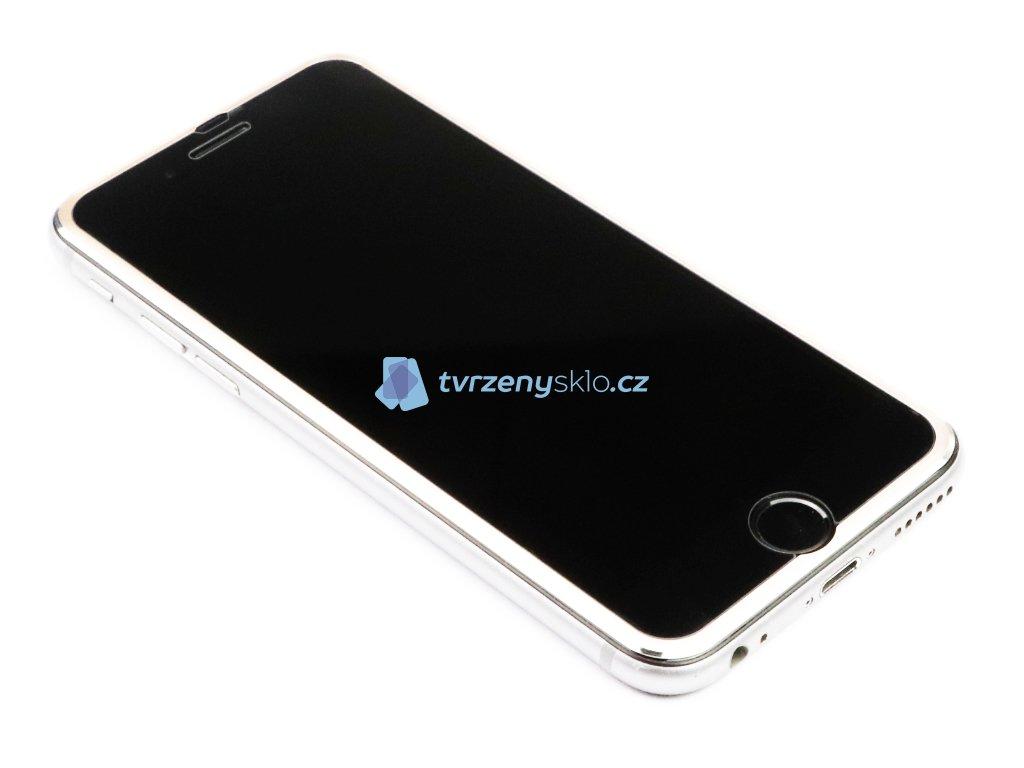 3D Tvrzené sklo s hliníkovým rámečkem na iPhone 6,6s,7,8 Zlaté