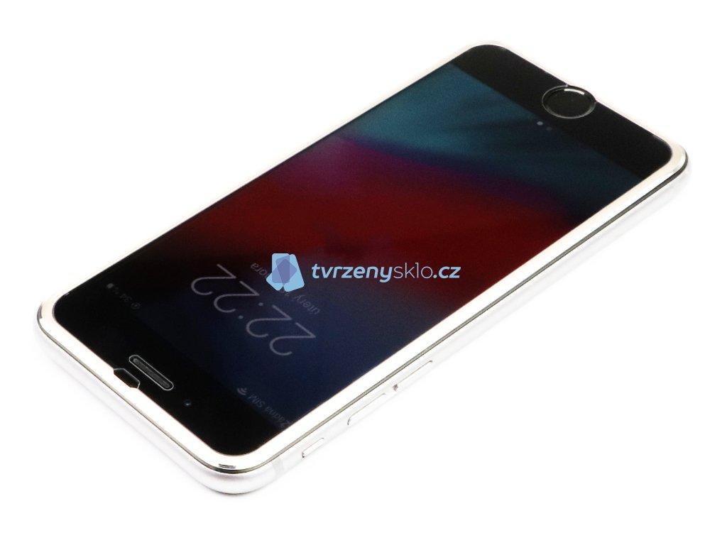 3D Tvrzené sklo s hliníkovým rámečkem iPhone 6,6s,7,8 Zlaté 1