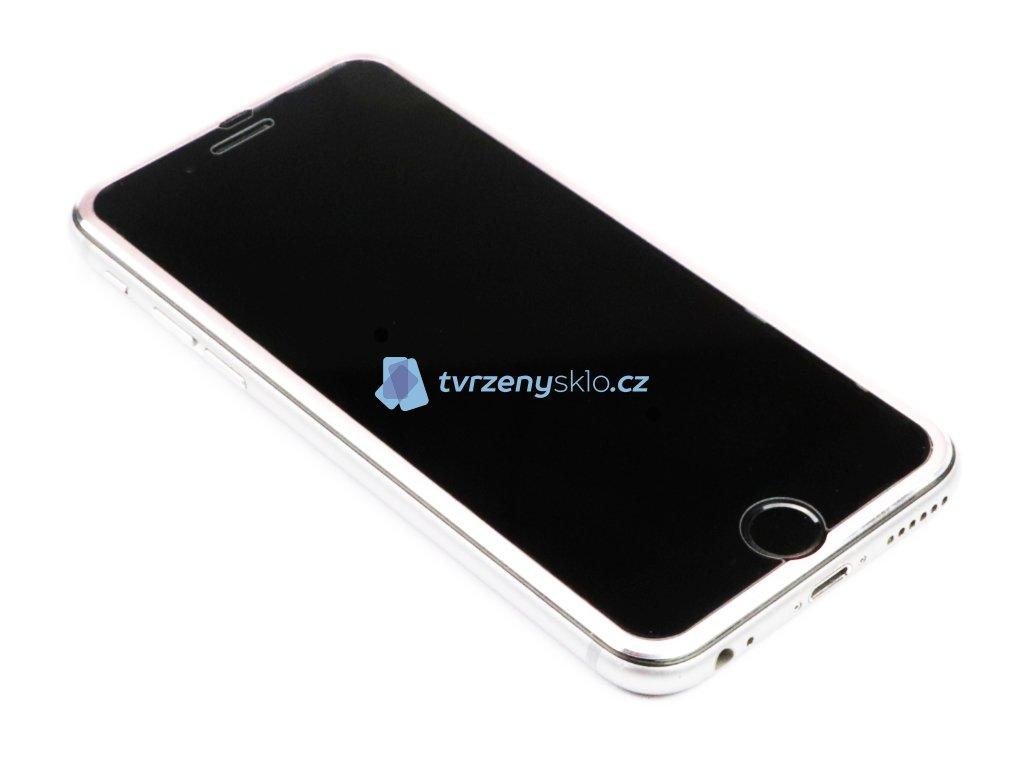 3D Tvrzené sklo s hliníkovým rámečkem iPhone 6,7,8 5