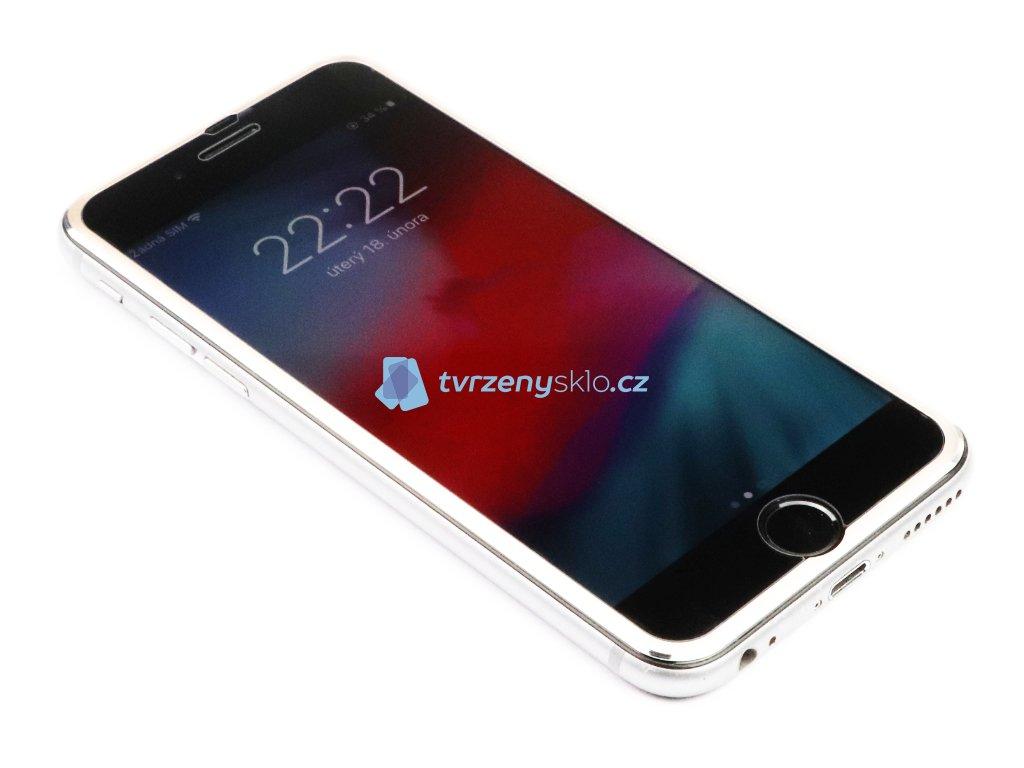 3D Tvrzené sklo s hliníkovým rámečkem iPhone 6,6s,7,8 - Plus - Zlaté