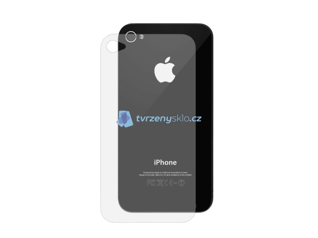 Ochranná fólie iPhone 4,4s Zadní