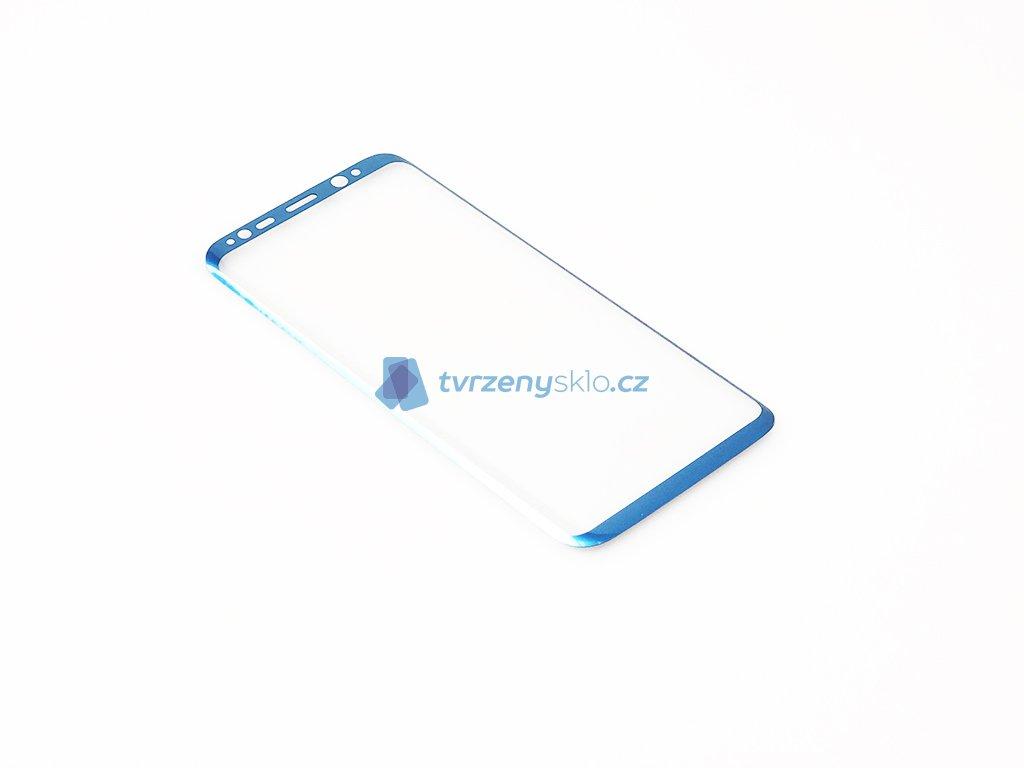 Zaoblené Tvrzené sklo Samsung Galaxy S8 Modré