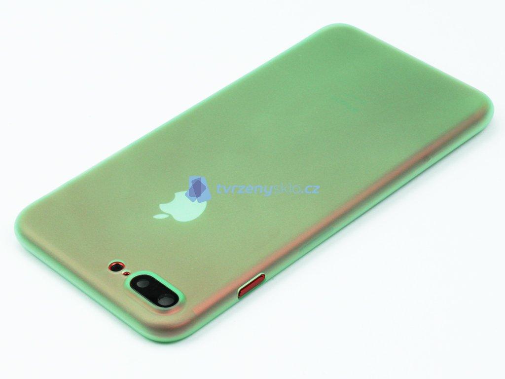 84016bd581 Tenký Plastový kryt pro iPhone 7 Plus   iPhone 8 Plus - Zelený