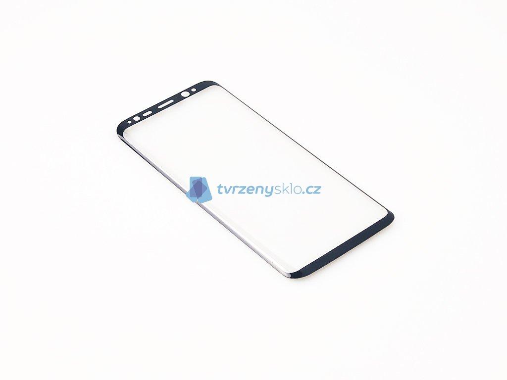 Zaoblené Tvrzené sklo Samsung Galaxy S8 Černé