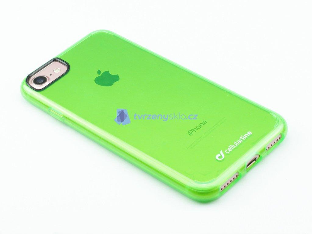 Pevný, Gumový ochranný kryt na iPhone 7, iPhone 8 Zelený