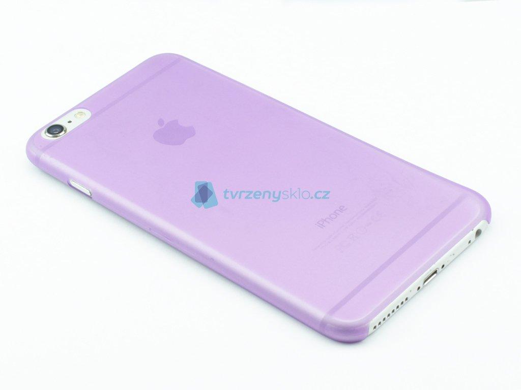 Tenký Plastový kryt pro iPhone 6 Plus, 6s Plus Fialový
