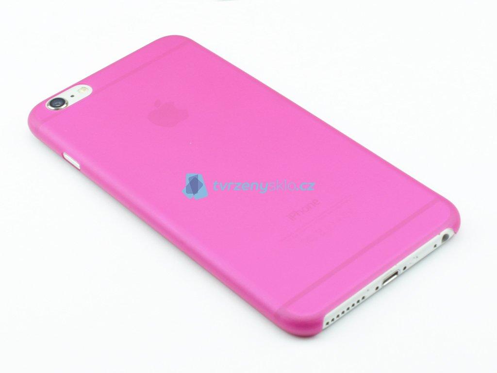 Tenký Plastový kryt pro iPhone 6 Plus, 6s Plus Růžový