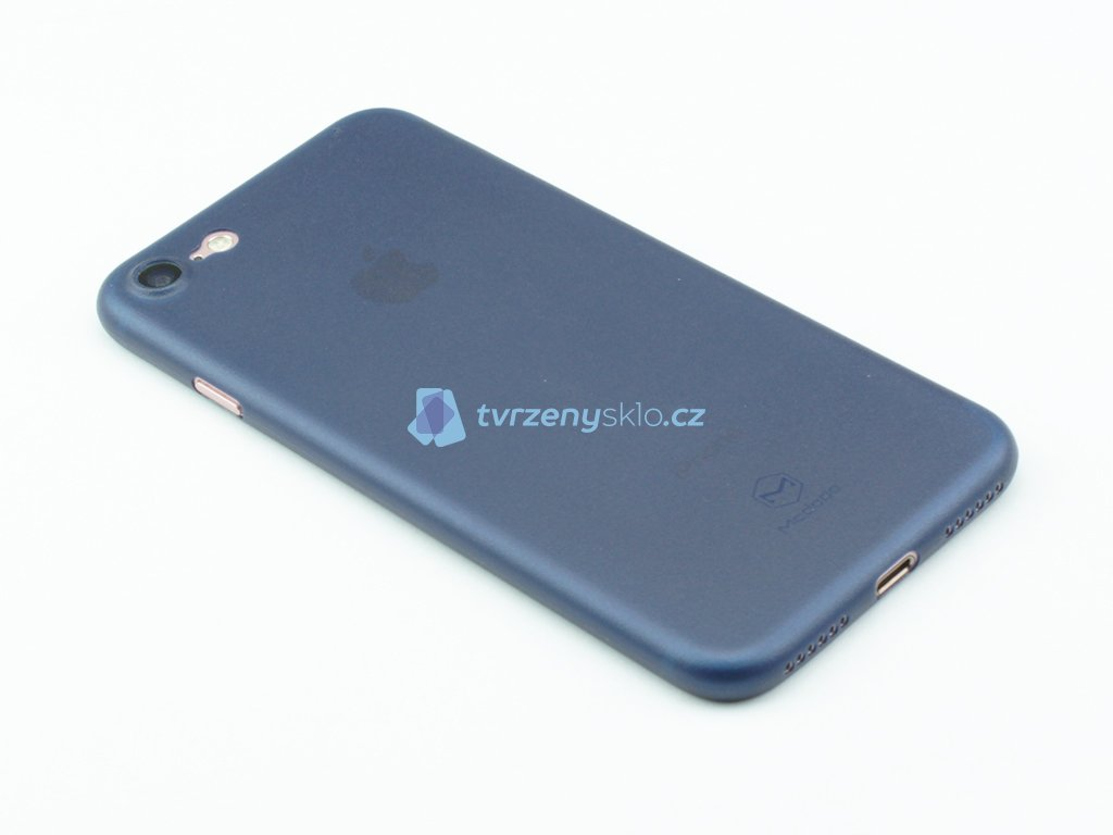 Plastový kryt Mcdodo na iPhone 7, iPhone 8 Modrý