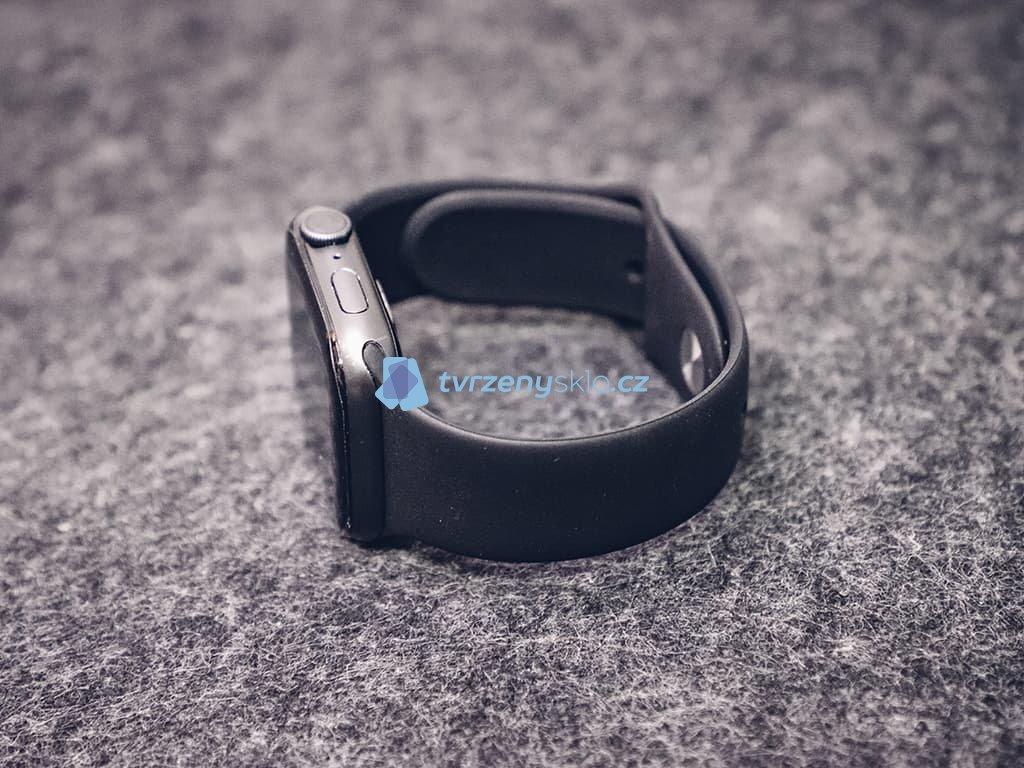 Gumový řemínek pro Apple Watch Černý
