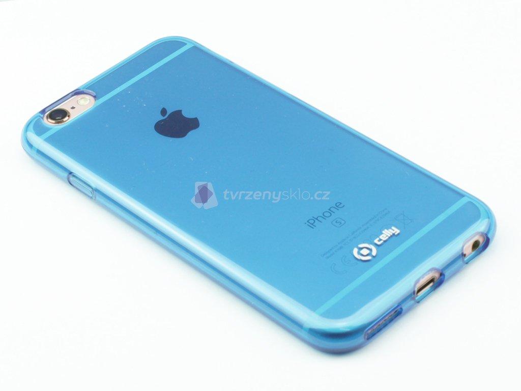 Pouzdro CELLY Gelskin pro Apple iPhone 6,6S, modré