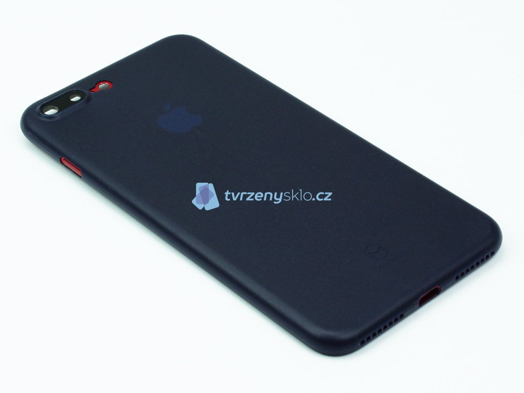 Plastový kryt Mcdodo na iPhone 7, 8 Plus Modrý