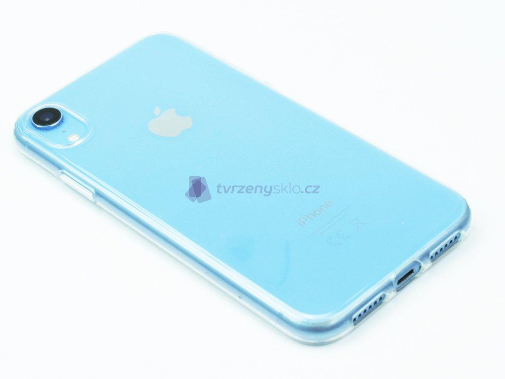 Průhledný Gumový kryt pro iPhone XR