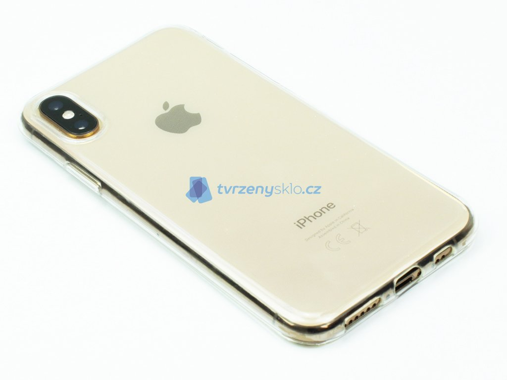 Průhledný Gumový kryt pro iPhone X,XS