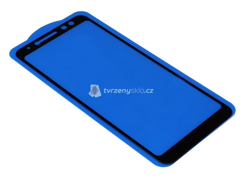 3D Tvrzené sklo Samsung Galaxy A8 (2018) PREMIUM Bílé