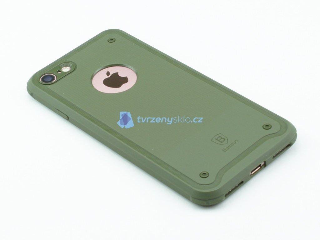 Gumový obal Baseus shield pro iPhone 7,8 Zelený
