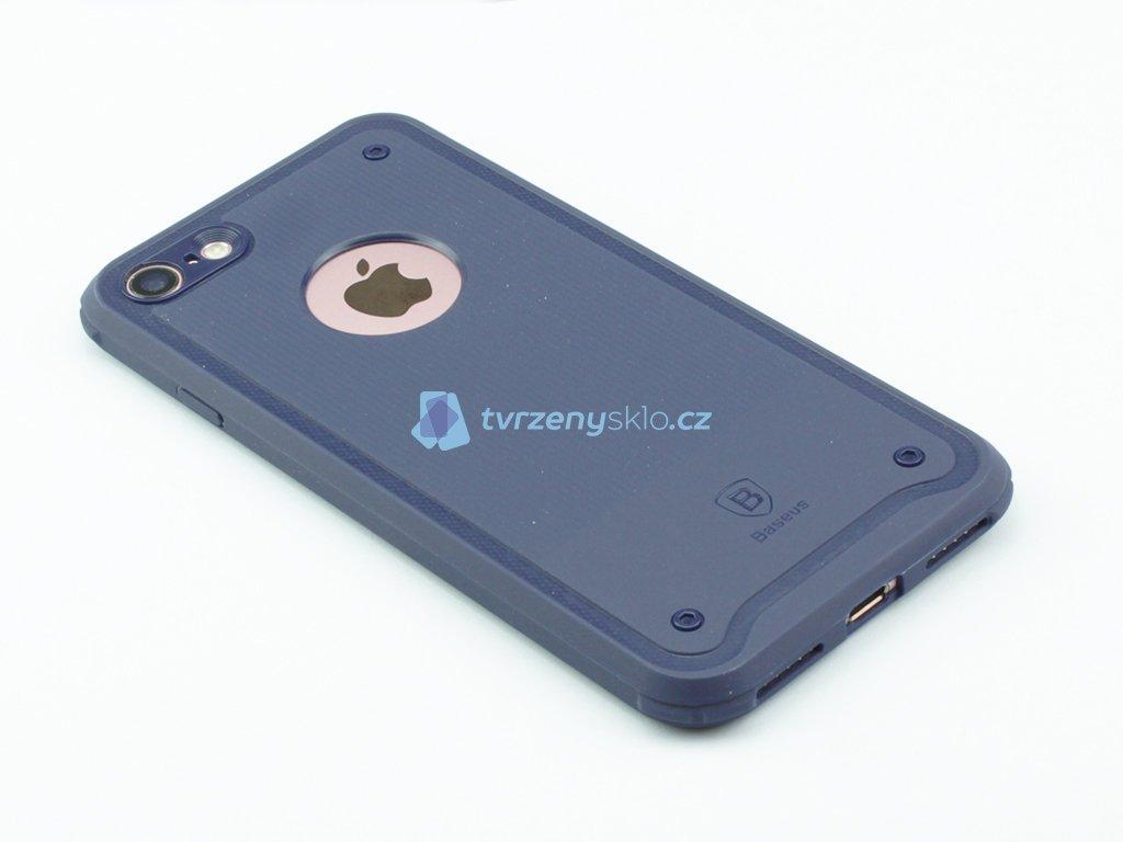 Gumový obal Baseus shield pro iPhone 7,8 Modrý
