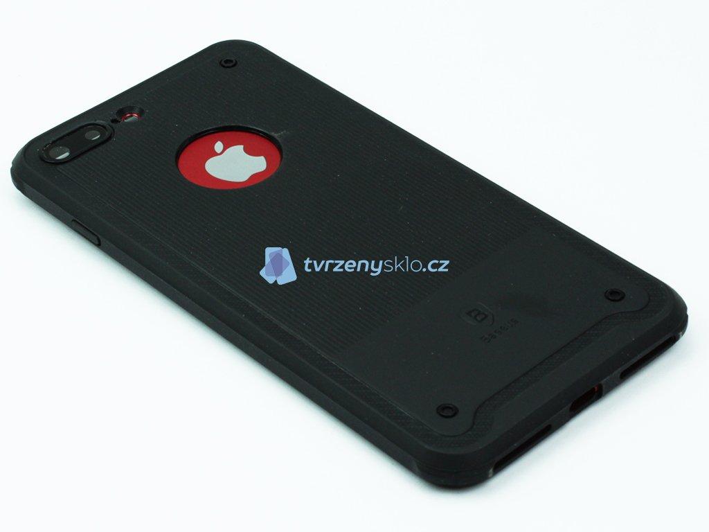 Gumový obal Baseus shield pro iPhone 7 Plus, 8 Plus Černý