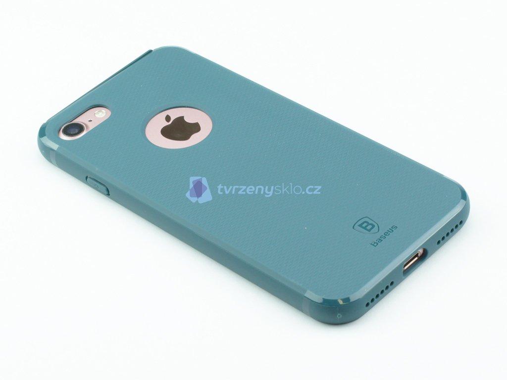 Gumový obal Baseus Hermit Bracket pro iPhone 7, 8 Zelený