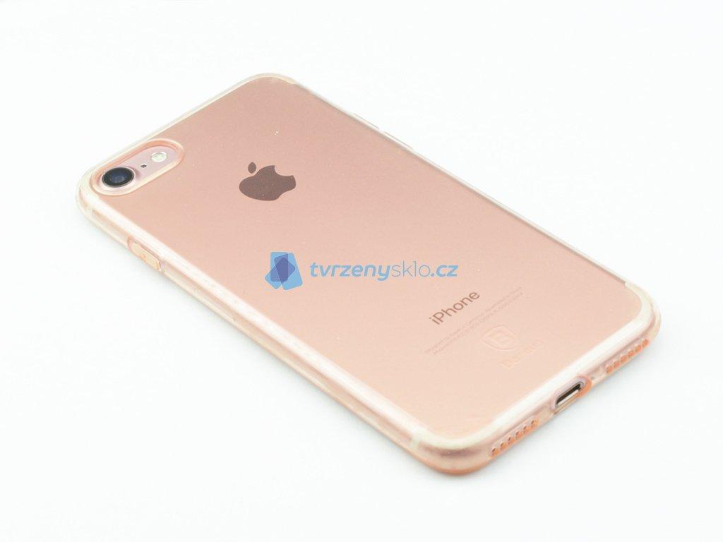 Gumový obal Baseus Simple Series pro iPhone 7, 8 Růžový