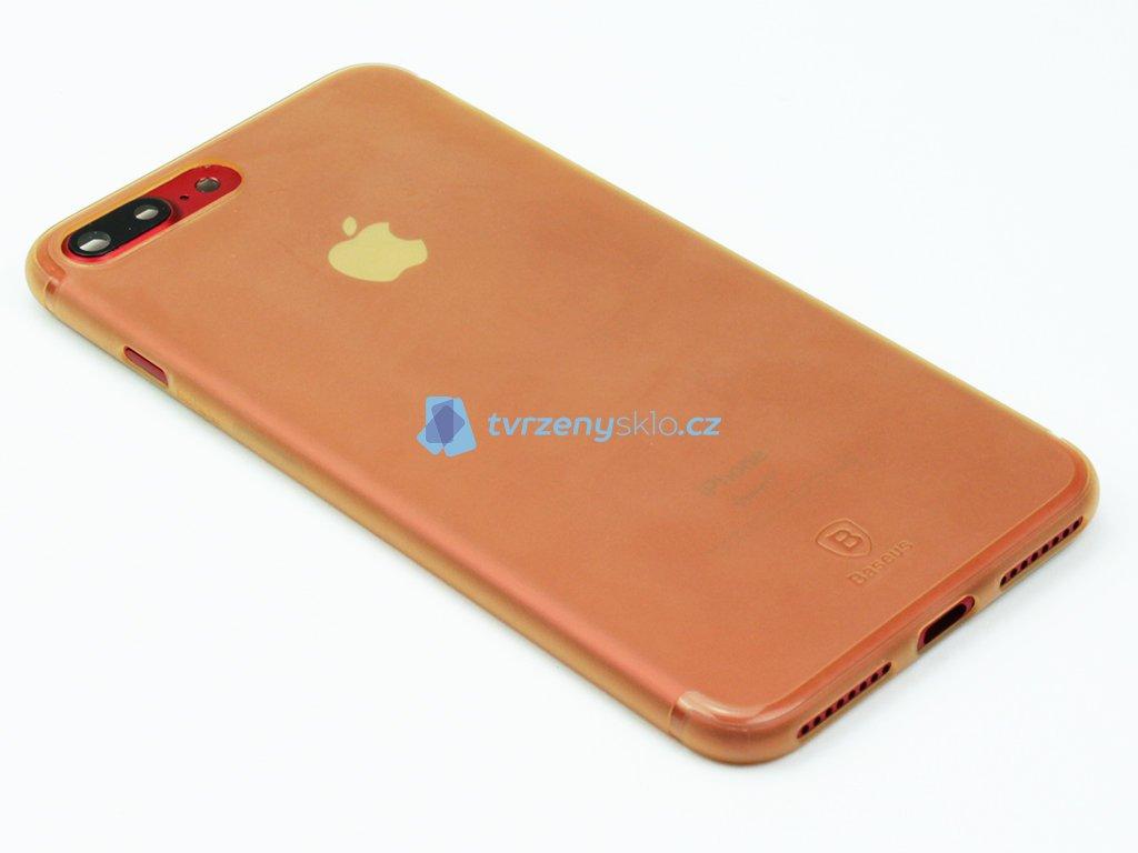 Plastový obal Baseus Simple Series pro iPhone 7 Plus, 8 Plus Zlatý