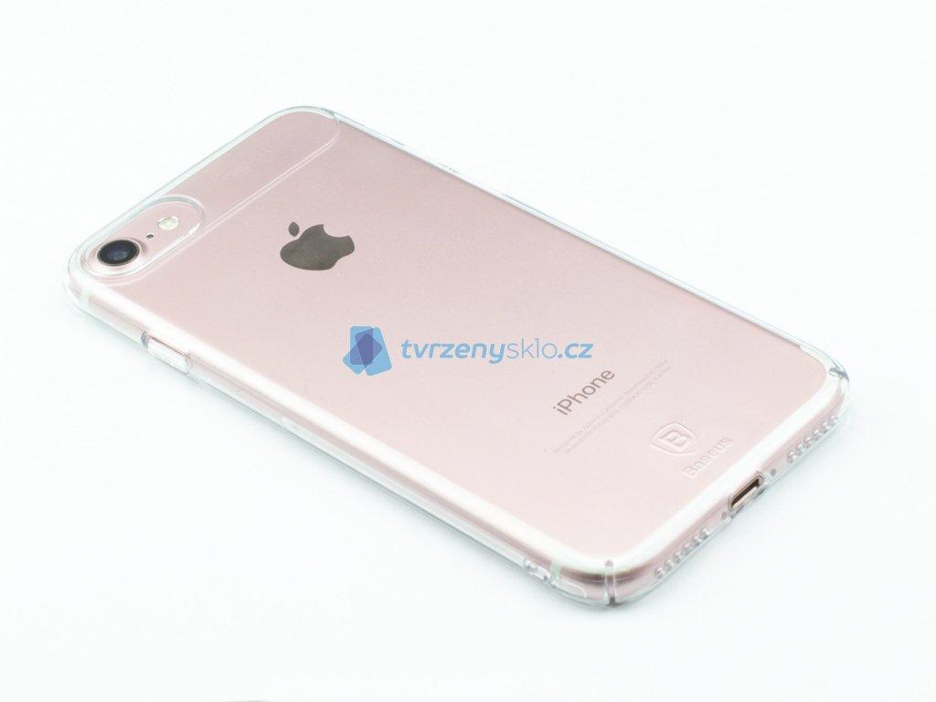 Pevný obal Baseus Sky pro iPhone 7, 8 Průhledný