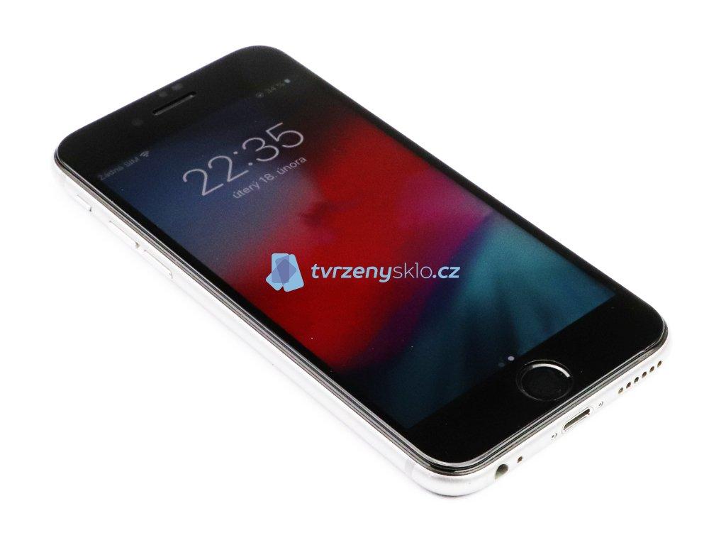 3D tvrzené sklo pro iPhone 6/6S (Premium) - Černé