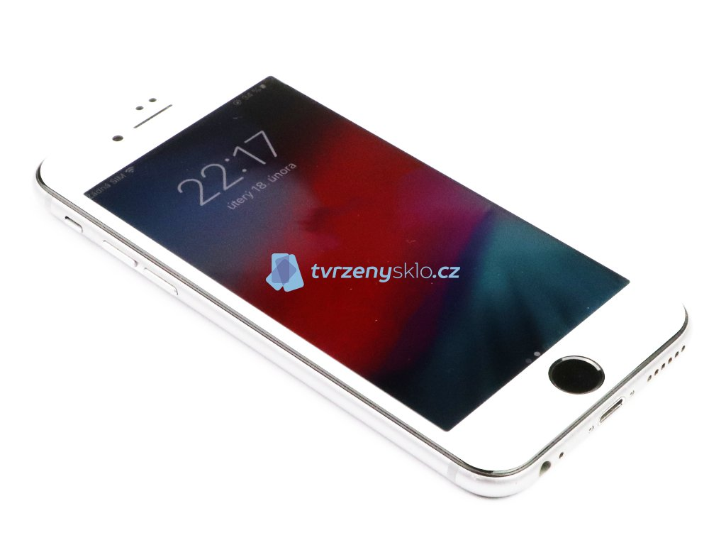 3D Tvrzené sklo na iPhone 6,7,8 Classic Bílé 1
