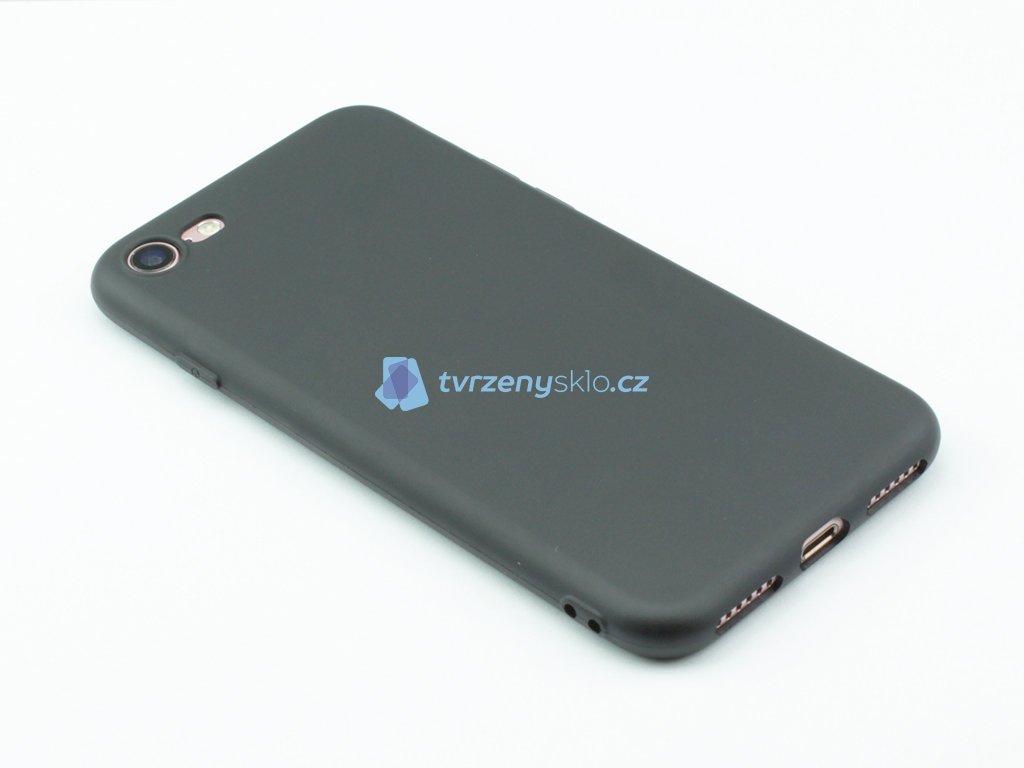 TPU Gumový kryt pro iPhone 7,8 Černý