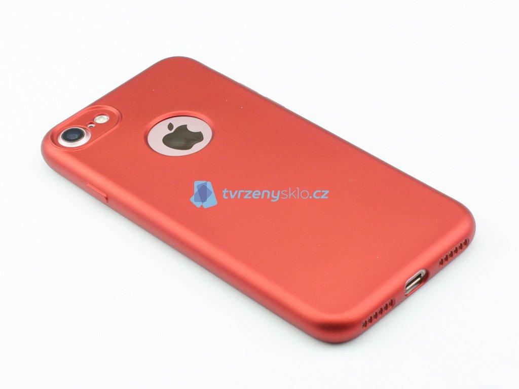 Oboustranný, gumový kryt pro iPhone 7,8 2v1 Červený