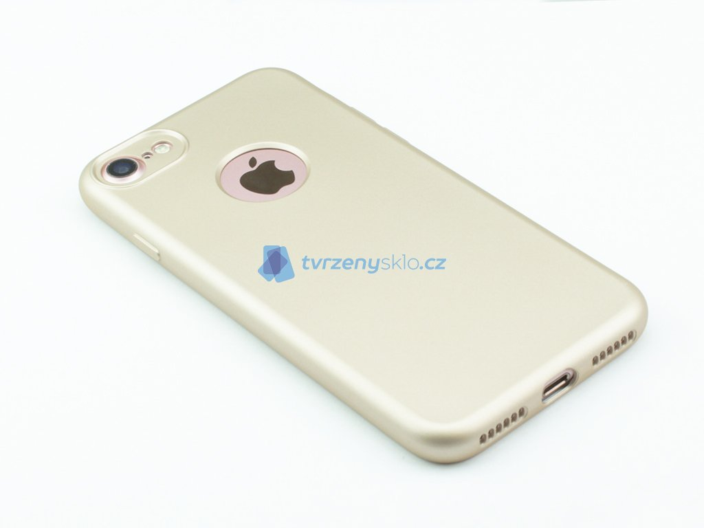 Oboustranný, gumový kryt pro iPhone 7,8 2v1 Zlatý