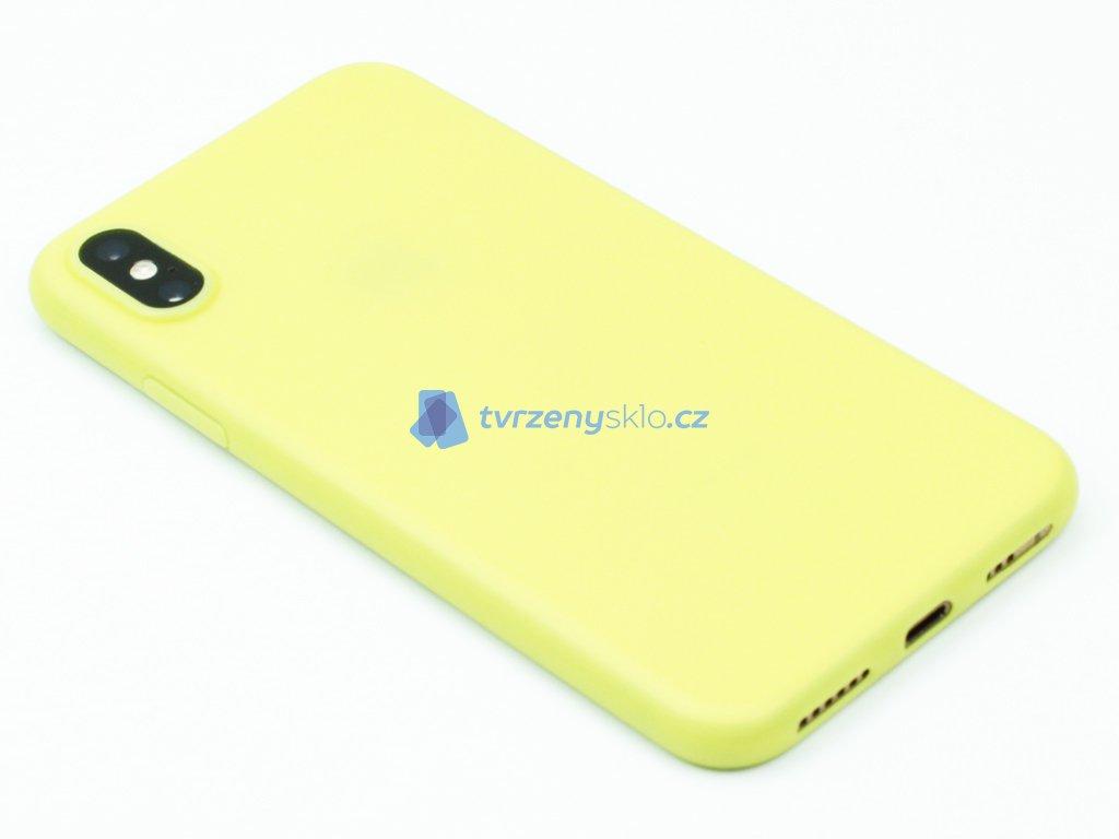Hoco, Suay Green ochranný kryt pro iPhone X,XS Žlutý