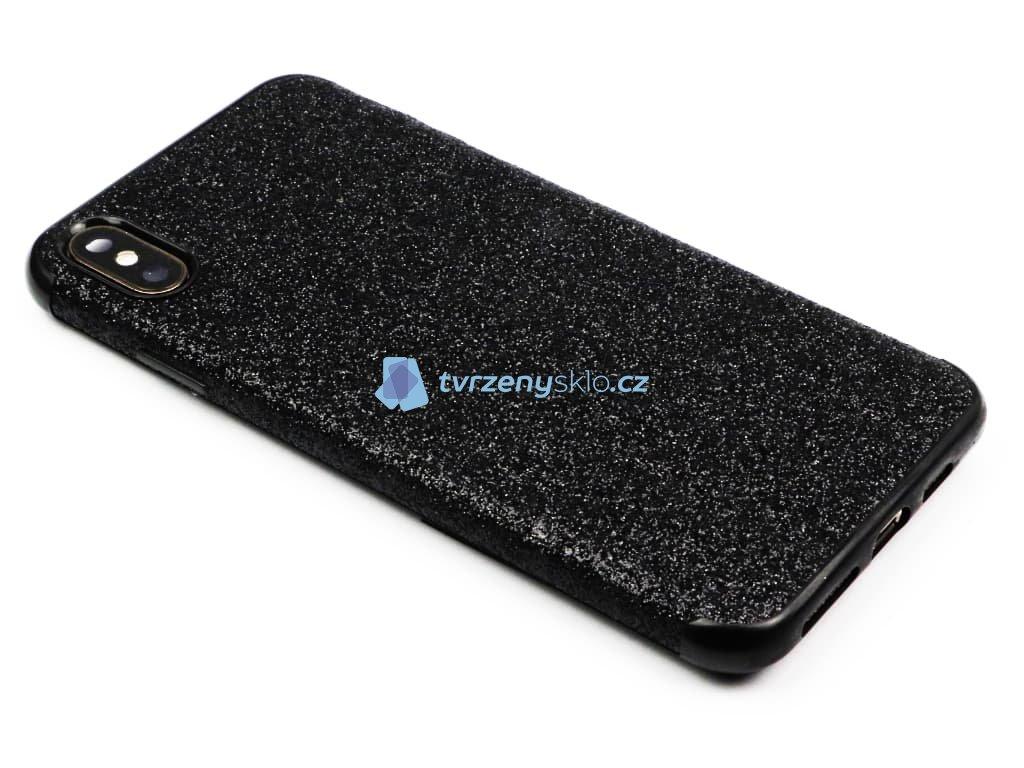 Třpytkový kryt pro iPhone XS Max Černý 1