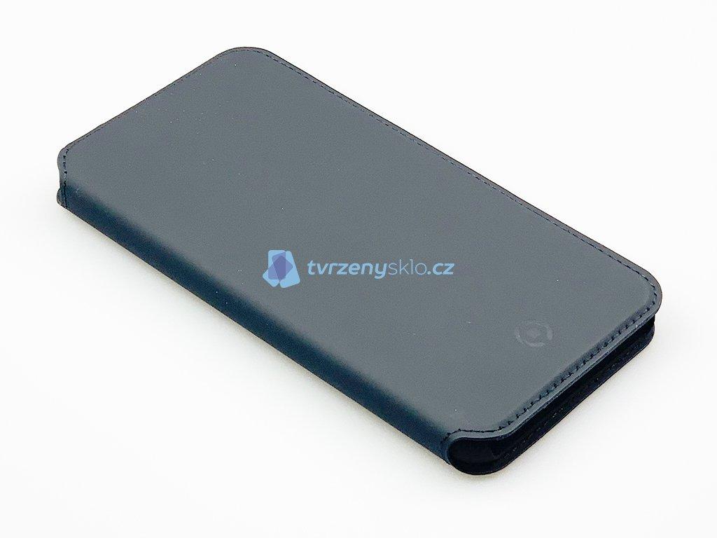 Pouzdro typu kniha CELLY Prestige pro Apple iPhone XS Max, PU kůže, černé