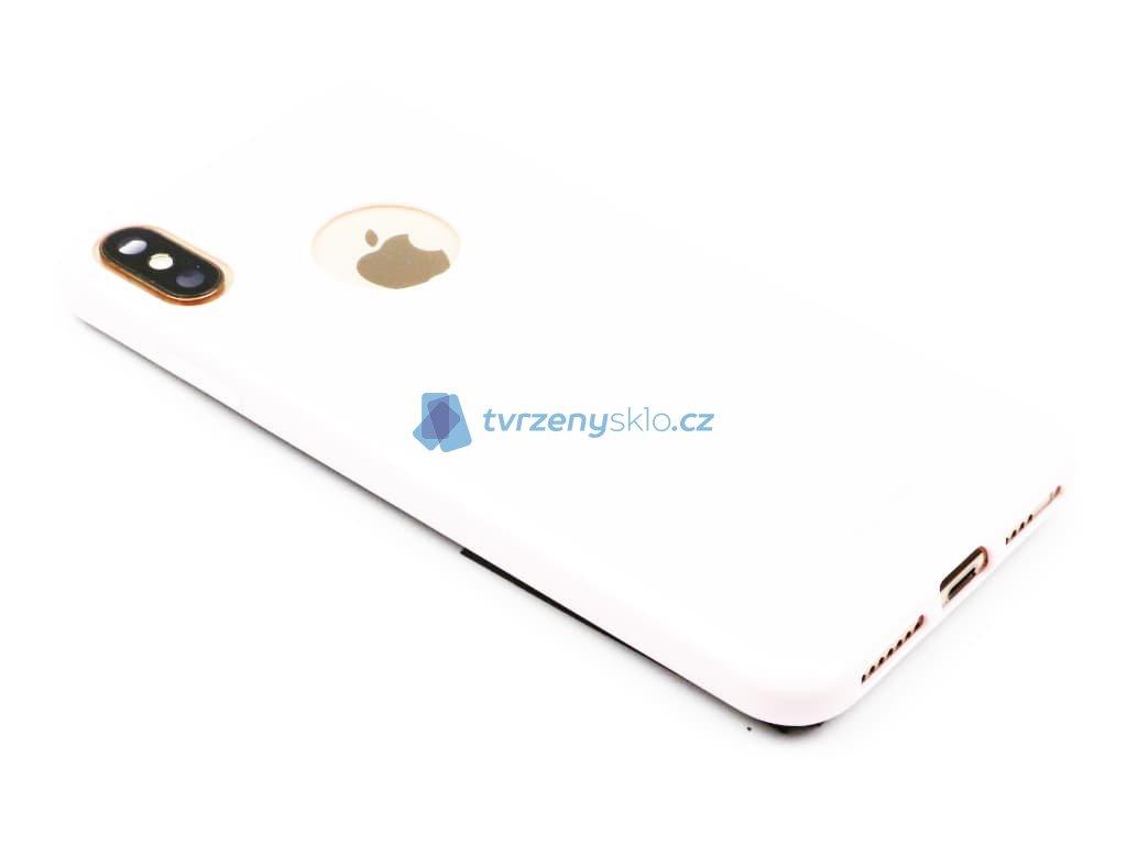 TPU pouzdro CELLY Gelskin pro Apple iPhone XS Max, růžové 1