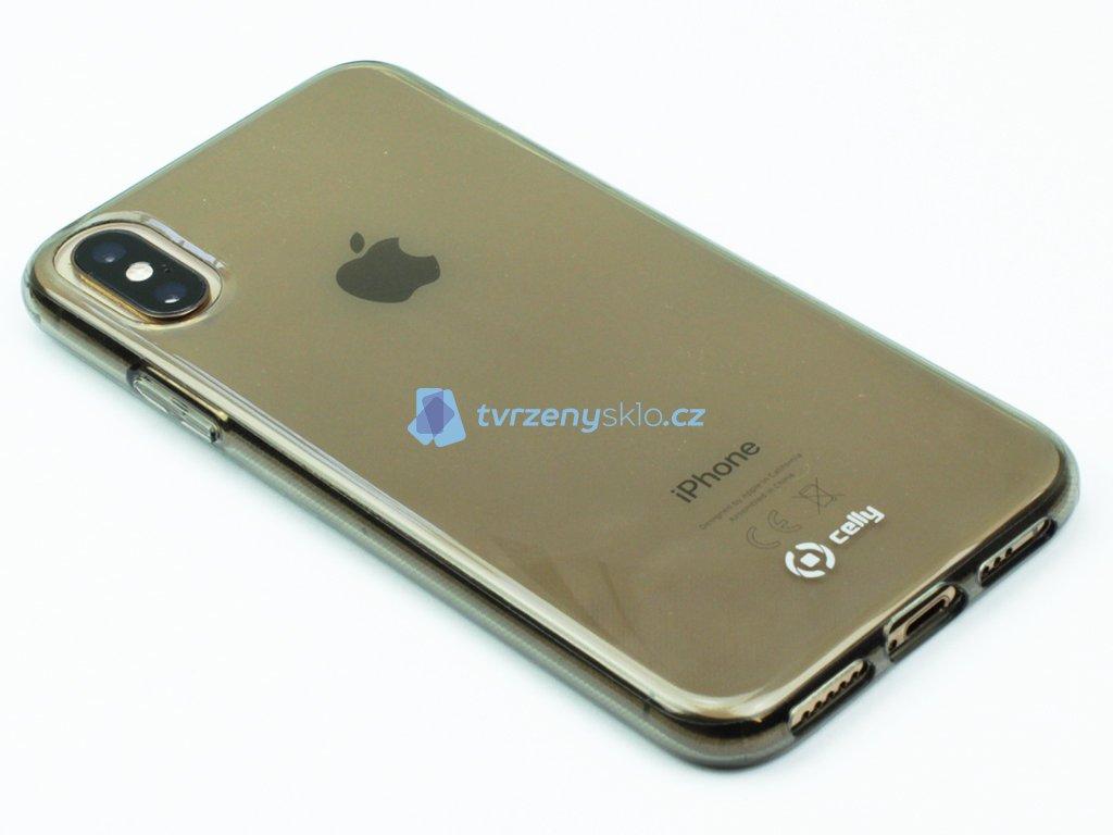 TPU pouzdro CELLY Gelskin pro Apple iPhone X,XS, černé