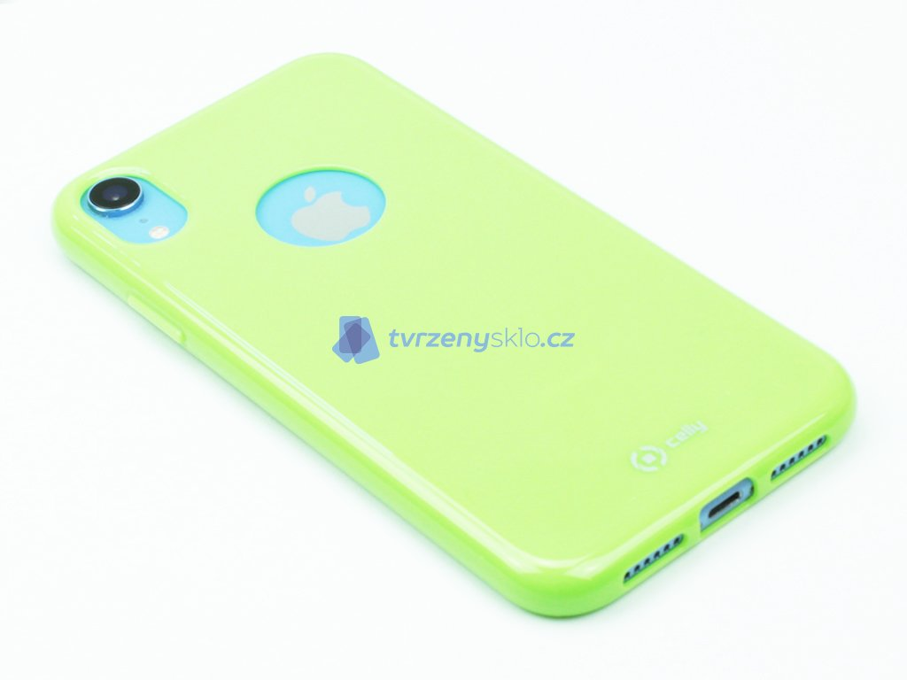 TPU pouzdro CELLY Gelskin pro Apple iPhone XR, limetkové