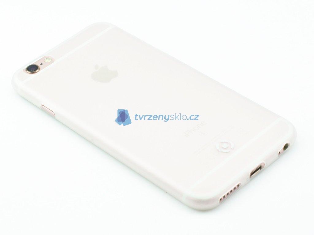 Ultra tenké TPU pouzdro CELLY Frost pro Apple iPhone 6,6S, 0,29 mm, bílé