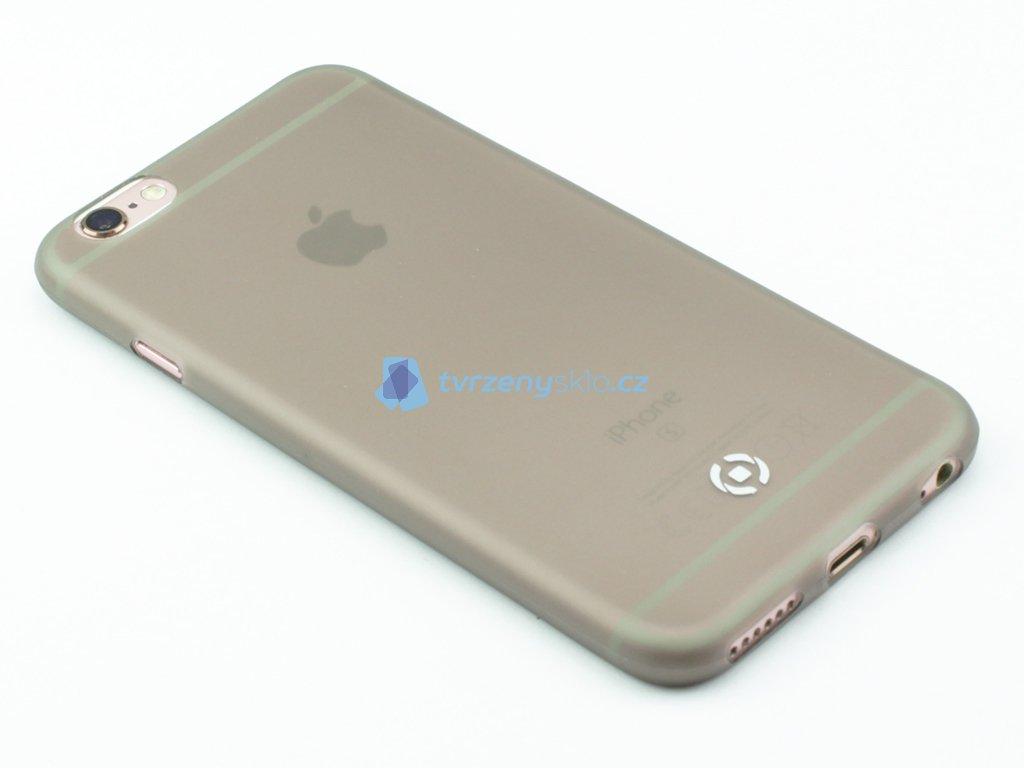Ultra tenké TPU pouzdro CELLY Frost pro Apple iPhone 6,6S, 0,29 mm, černé