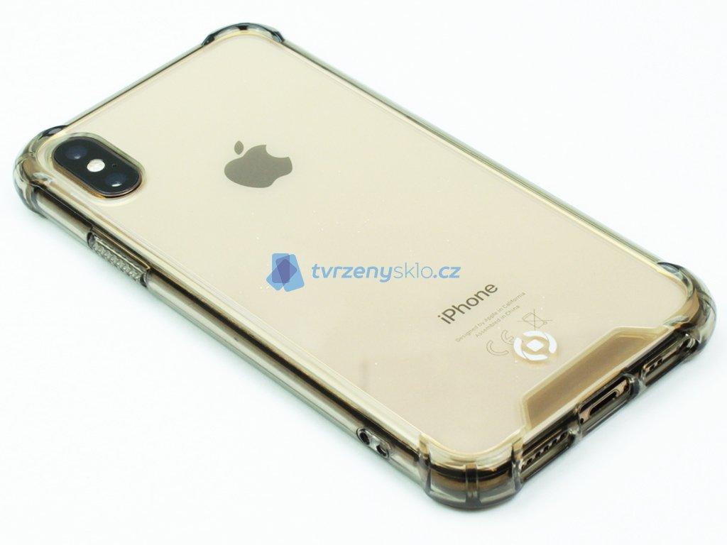 Zadní kryt CELLY Armor pro Apple iPhone X, iPhone XS Černý