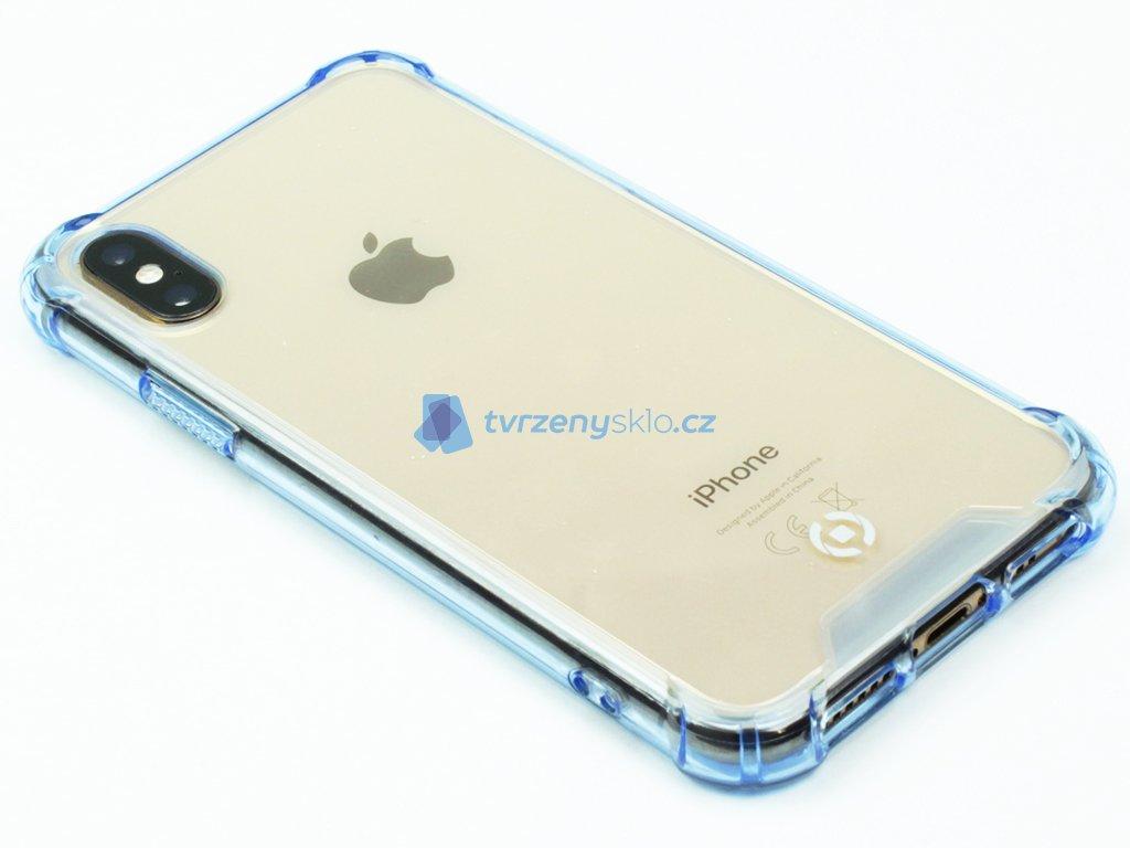 Zadní kryt CELLY Armor pro Apple iPhone X, iPhone XS Modré