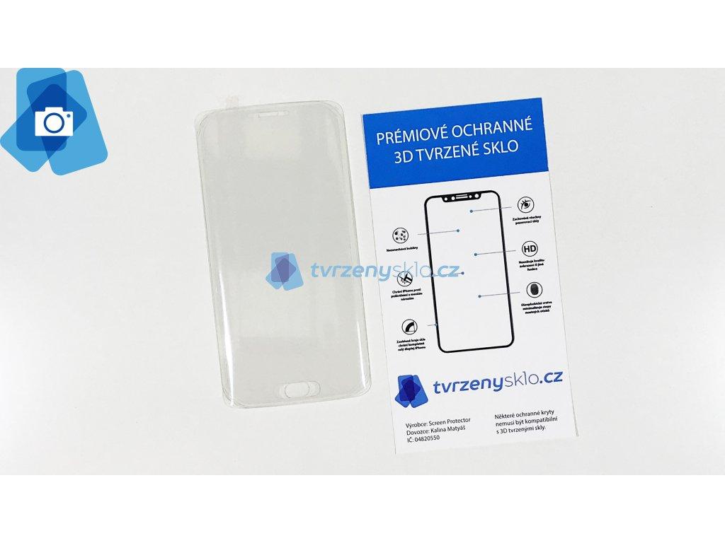 Zaoblené Tvrzené sklo Samsung Galaxy S6 Edge Plus Průhledné