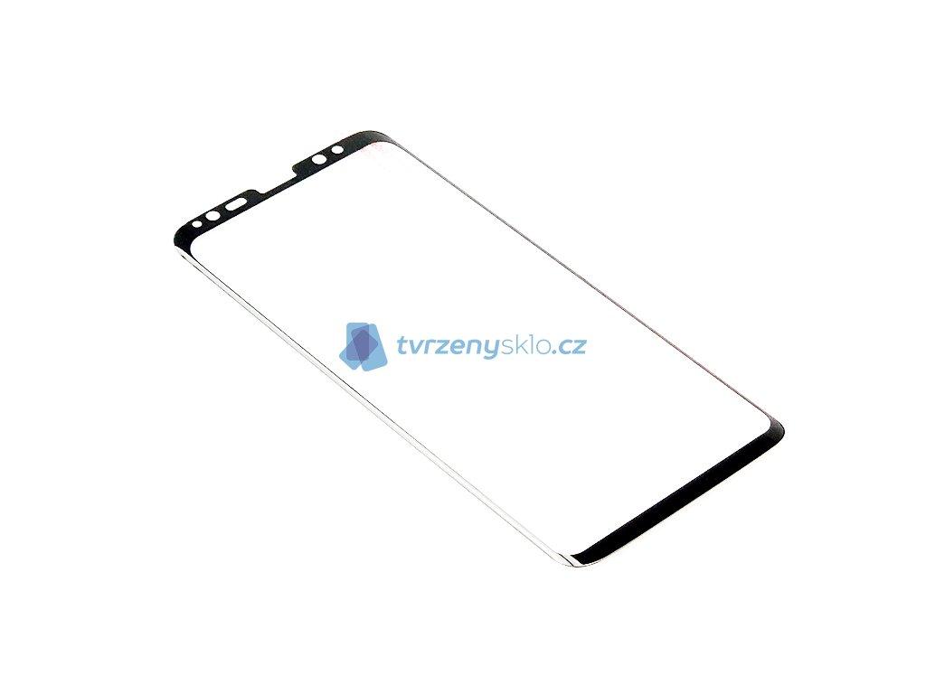 3D Tvrzené sklo pro Samsung Galaxy S8 PREMIUM Černé (Celopodlepené)