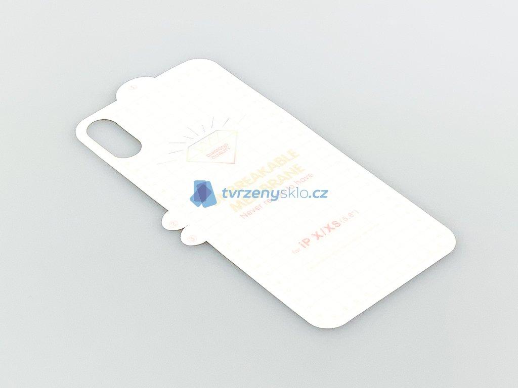 Zadní 3D Hydro fólie pro iPhone X,XS
