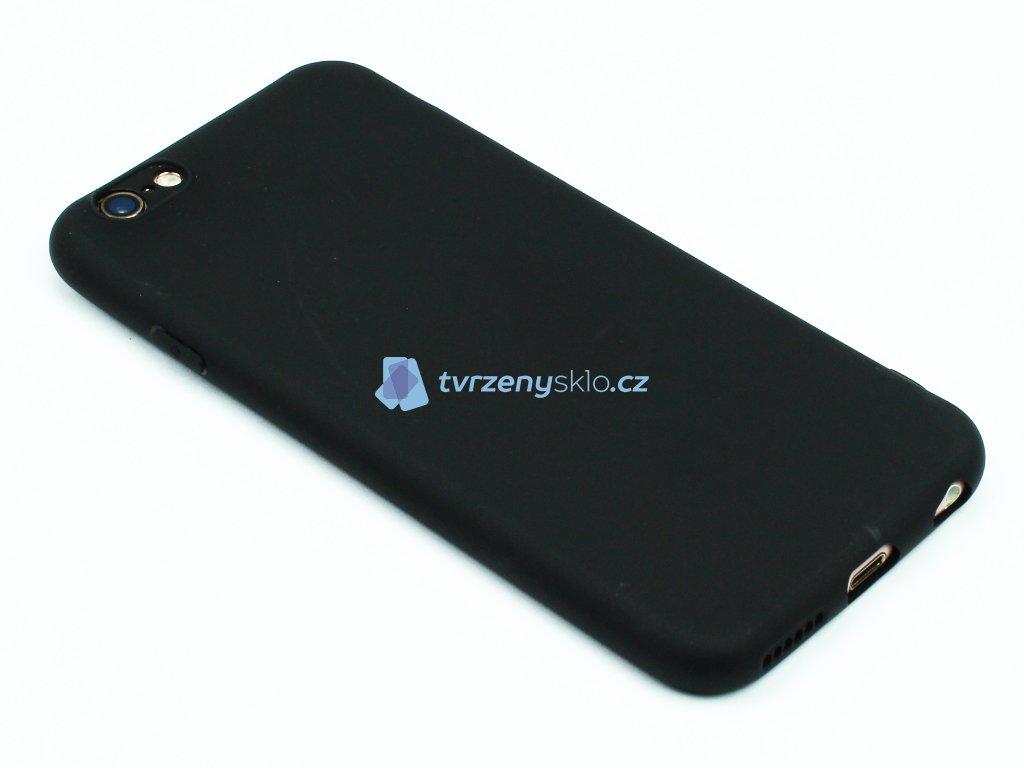 TPU Gumový kryt pro iPhone 6,6s Černý 1