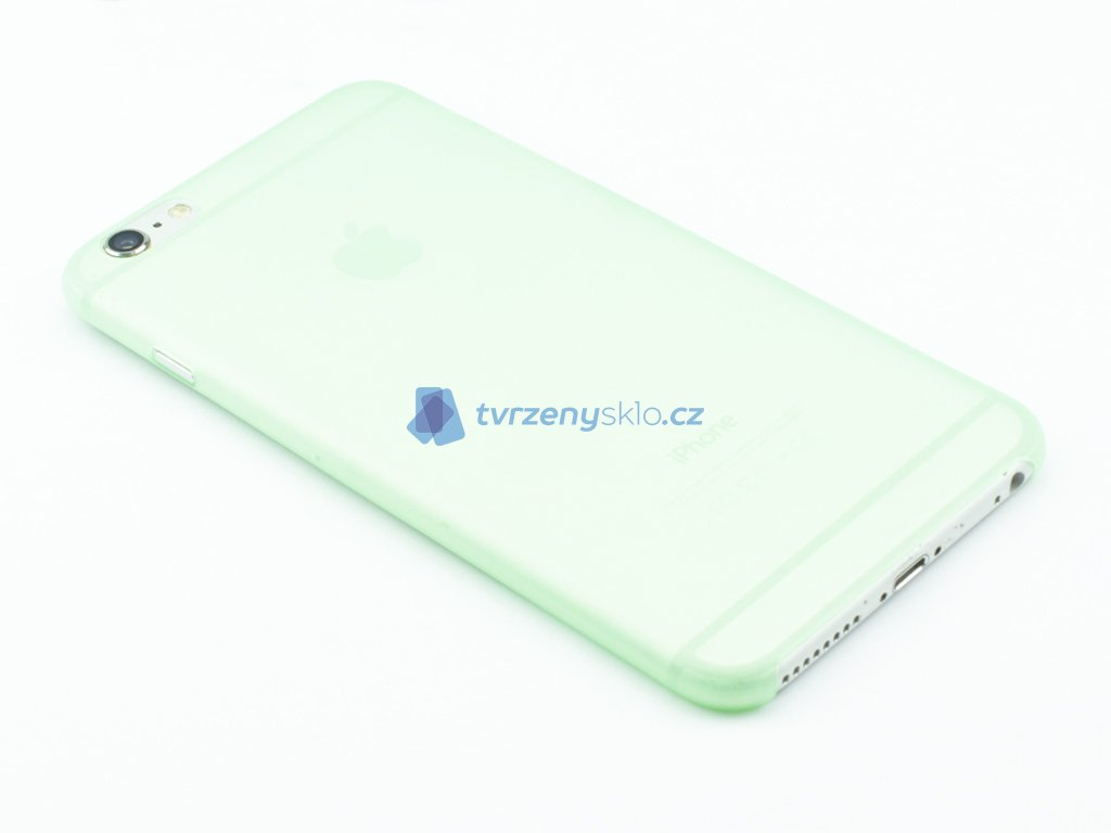 Tenký Plastový kryt pro iPhone 6 Plus, 6s Plus Zelený