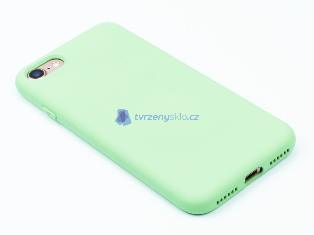 Silikonový kryt na iPhone 7,8 Zelený 1